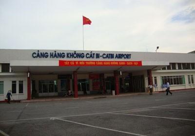Sân Bay Cát Bi,Hải Phòng.